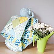 Для дома и интерьера ручной работы. Ярмарка Мастеров - ручная работа Детский комплект с китом. Handmade.