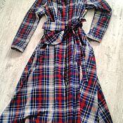 Одежда ручной работы. Ярмарка Мастеров - ручная работа Платье-рубашка со съёмным карманом. Handmade.
