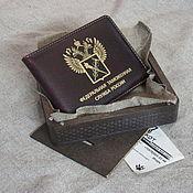 Канцелярские товары handmade. Livemaster - original item Cover for customs identification. Cover on magnets. Nominal. Handmade.