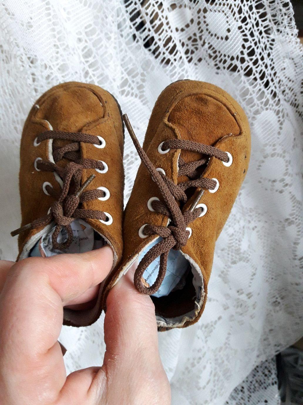d6f92d747 Винтажная обувь. Ярмарка Мастеров - ручная работа. Купить Винтаж: Ботиночки  детские новые большим ...