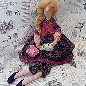 Куклы и игрушки ручной работы. Ярмарка Мастеров - ручная работа Ясмина-приглашаю на чай. Handmade.