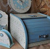 """Для дома и интерьера ручной работы. Ярмарка Мастеров - ручная работа Изящный век""""комплект для кухни. Handmade."""