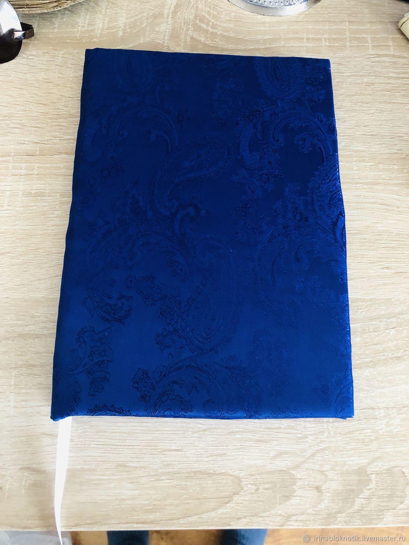 Блокноты ручной работы. Ярмарка Мастеров - ручная работа. Купить Блокнот ручной работы. Handmade. Блокнот, блокнот новороссийск, ткань