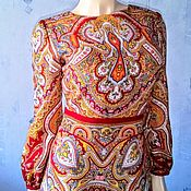 Одежда handmade. Livemaster - original item Dress made from Pavlovo-Posad shawls