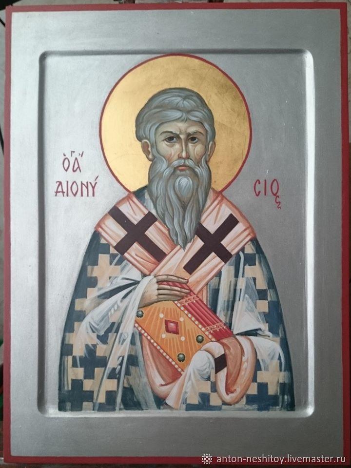 Икона Священномученика Дионисия Ареопагита, Иконы, Москва,  Фото №1