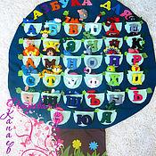 """Куклы и игрушки ручной работы. Ярмарка Мастеров - ручная работа Плакат Алфавит """"ДЕРЕВО"""". Handmade."""