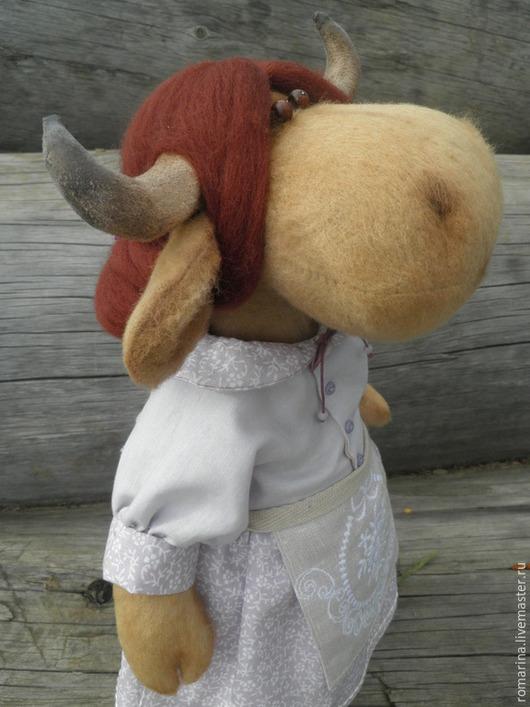 Игрушки животные, ручной работы. Ярмарка Мастеров - ручная работа. Купить Интерьерная игрушка лавандовая коровка. Handmade. Сиреневый
