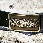 Аксессуары handmade. Livemaster - original item Leather belt