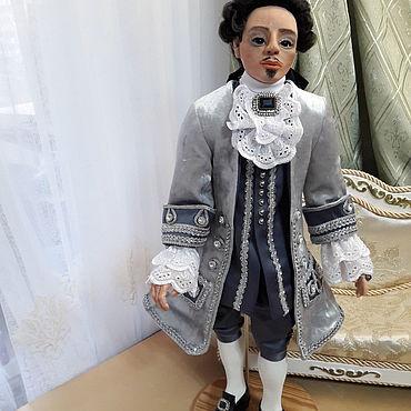 Dolls & toys handmade. Livemaster - original item Court dandy. Handmade.