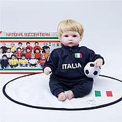 Куклы Reborn ручной работы. Ярмарка Мастеров - ручная работа Куклы Reborn: Кукла Reborn, футболист Италия. Handmade.