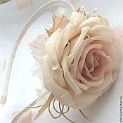 handmade. Livemaster - original item Headbands and headbands with roses for girls.. Handmade.