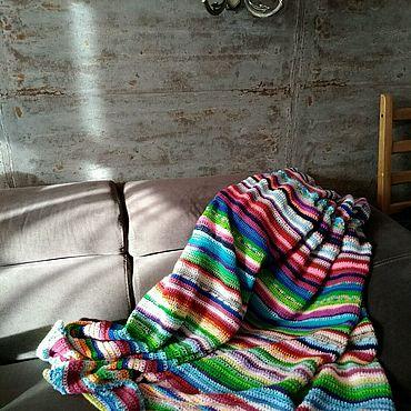 """Текстиль ручной работы. Ярмарка Мастеров - ручная работа Плед """"Дачный"""". Handmade."""