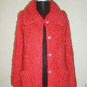 """Одежда ручной работы. Ярмарка Мастеров - ручная работа пальто """"Маков цвет"""". Handmade."""