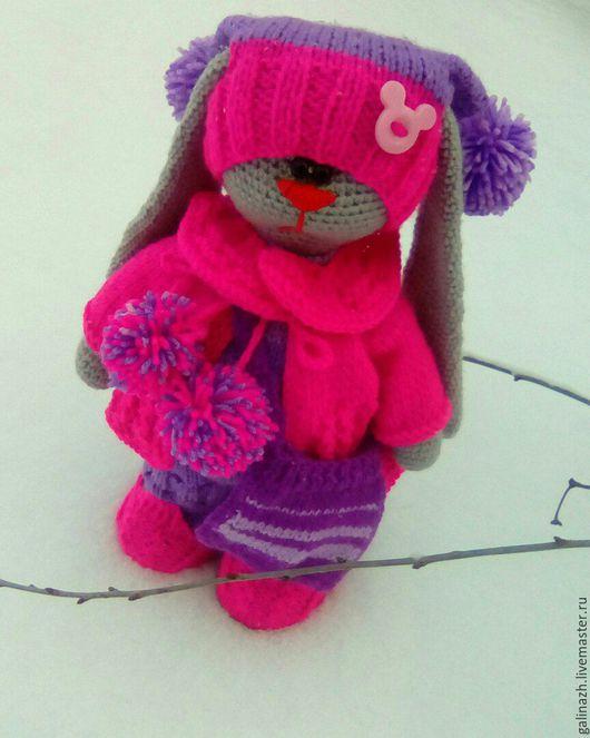 Куклы Тильды ручной работы. Ярмарка Мастеров - ручная работа. Купить Зайка малинка. Handmade. Комбинированный, подарок, оригинальный подарок