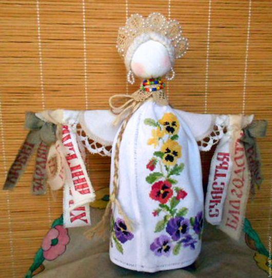 Народные куклы ручной работы. Ярмарка Мастеров - ручная работа. Купить Кукла желанница Анюта - оберег на исполнение желаний. Handmade.