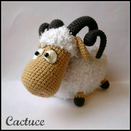 Игрушки животные, ручной работы. Ярмарка Мастеров - ручная работа. Купить Барашек. Handmade. Баран, овечка, амигуруми, игрушка, пряжа