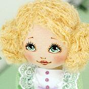 Куклы и игрушки ручной работы. Ярмарка Мастеров - ручная работа Текстильная авторская кукла Эмили. Handmade.