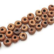 handmade. Livemaster - original item Terra ceramic round bead set 25 PCs. Handmade.