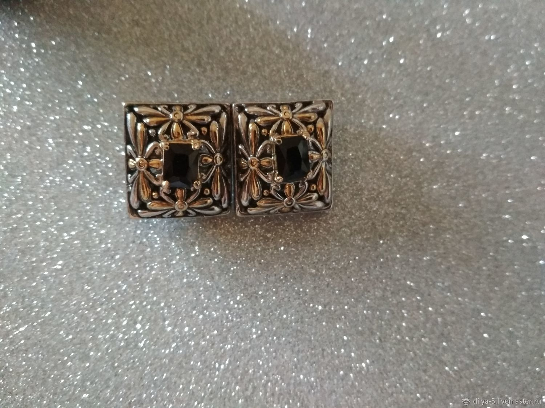 Clips, Vintage earrings, Vladimir,  Фото №1