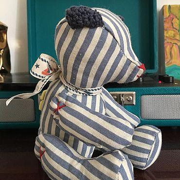 Куклы и игрушки ручной работы. Ярмарка Мастеров - ручная работа Игрушки: Медвежонок Моряк Бернард. Handmade.