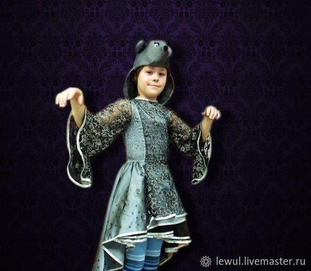 """ручной работы. Ярмарка Мастеров - ручная работа. Купить Карнавальный костюм """"Мышка"""". Handmade. Карнавал, карнавальный костюм, серебряный"""