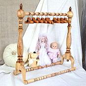 Куклы и игрушки ручной работы. Ярмарка Мастеров - ручная работа Мебель для кукол, вешалка для кукольной одежды. Handmade.