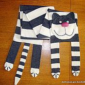 Аксессуары ручной работы. Ярмарка Мастеров - ручная работа кото шарф мурлыка. Handmade.