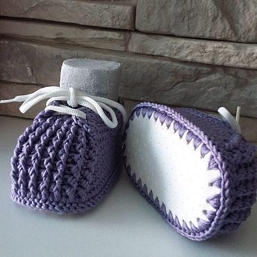 Обувь ручной работы. Ярмарка Мастеров - ручная работа Пинетки для ваших малышей. Handmade.