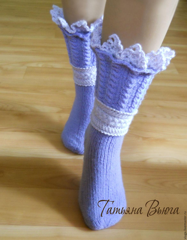 Вязание носков в стиле энтерлак видео