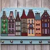 Для дома и интерьера handmade. Livemaster - original item The Housekeeper Amsterdam 1. The housekeeper wall.. Handmade.