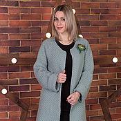 Одежда ручной работы. Ярмарка Мастеров - ручная работа Сияние весны- кардиган,  теплый, модный, купить пальто. Handmade.