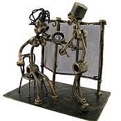Подарки к праздникам handmade. Livemaster - original item Figurine: Dermatologist. Handmade.