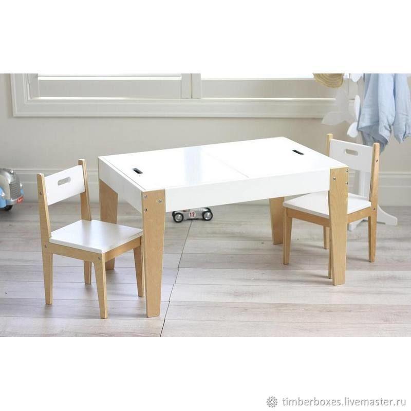 Детский комплект Izziwood - 1 (стол+2 стула), Столы, Киров,  Фото №1