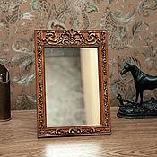 Для дома и интерьера ручной работы. Ярмарка Мастеров - ручная работа Настольное зеркало Мадлен. Handmade.