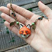 Украшения handmade. Livemaster - original item Suspension Fox. Handmade.