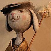 Куклы и игрушки ручной работы. Ярмарка Мастеров - ручная работа Зайчик-путешественник. Handmade.