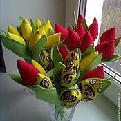 """Цветы и флористика ручной работы. Ярмарка Мастеров - ручная работа цветы """"Капельки весны"""". Handmade."""