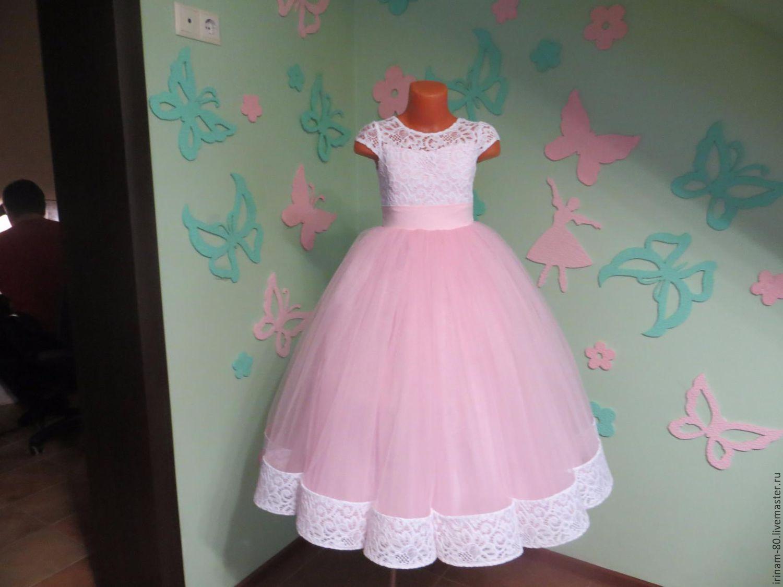 Пышные платья для девочек своими руками фото