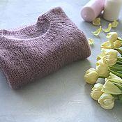 Одежда handmade. Livemaster - original item Translucent pullover mohair. Handmade.
