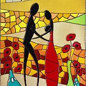 Панно ручной работы. Ярмарка Мастеров - ручная работа Краски Африки. Handmade.