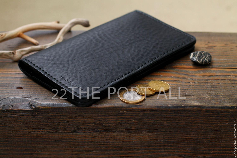 Кошельки и визитницы ручной работы. Заказать Кошелек кожаный, портмоне из  кожи, портмоне кожаное ... 43ffa703744