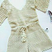Одежда ручной работы. Ярмарка Мастеров - ручная работа Пляжный комбинезон. Handmade.