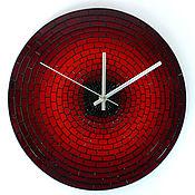 Для дома и интерьера ручной работы. Ярмарка Мастеров - ручная работа Часы настенные «Кирпичики-3». Handmade.