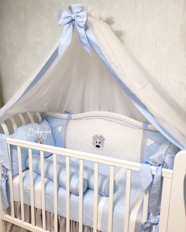 Балдахин на детскую кровать, юбочка, подзор, Балдахин для кроватки, Москва,  Фото №1