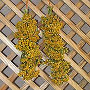 Для дома и интерьера ручной работы. Ярмарка Мастеров - ручная работа Букетик пижмы подвесной. Handmade.