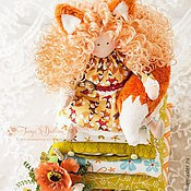 Куклы и игрушки ручной работы. Ярмарка Мастеров - ручная работа Принцесса на горошине Лисавета. Handmade.