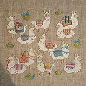 Гобелен ручной работы. Ярмарка Мастеров - ручная работа Гобелен: вышивка крестиком. Handmade.