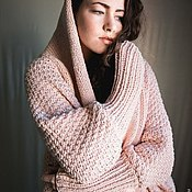 Одежда ручной работы. Ярмарка Мастеров - ручная работа Пальто-кардиган вязаное. Handmade.
