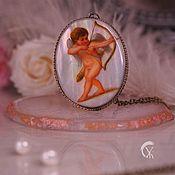 handmade. Livemaster - original item Pendant: Mother of pearl pendant