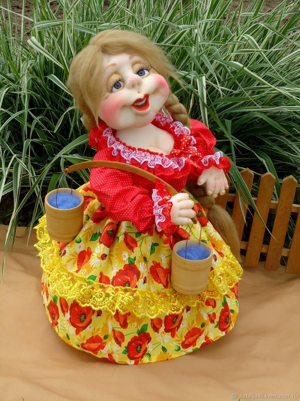 Кукла- грелка на чайник, Грелки на чайник, Ермишь,  Фото №1